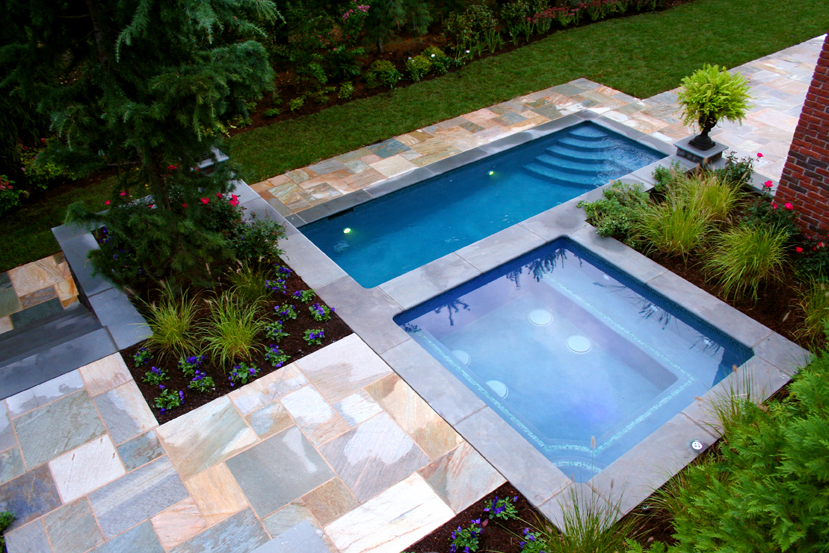 contemporary pool design nj